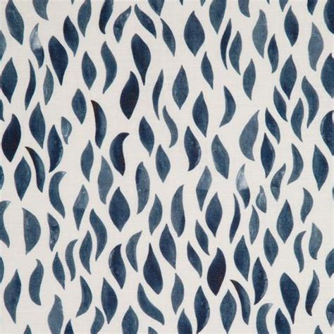 blue pattern fabric navy blue petals fabric