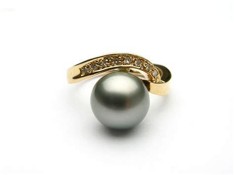 Pearl Ring by Is Pearl Engagement Rings Engagement Rings