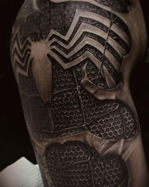 tattooentfernung hot stuff black spiderman tattoo www pixshark com images