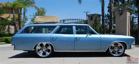 1966 chevy chevelle malibu station wagon rod