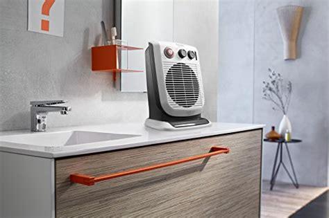 space heater in bathroom delonghi hvf3555tb bathroom safe fan heater home garden