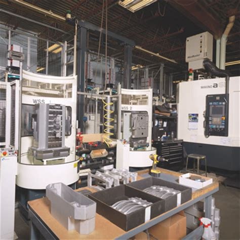 design for manufacturing tools makino machining complex automated cellular production