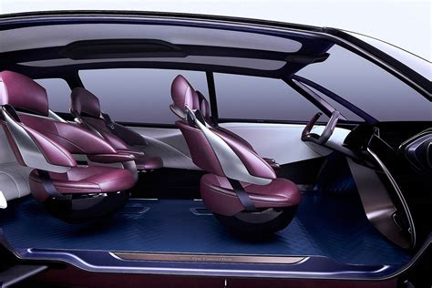 vehicle ride comfort toyota fine comfort ride concept envisions the hydrogen