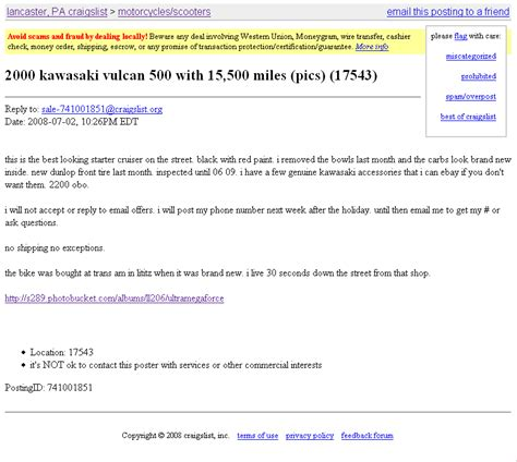 Craigslist Search Email Fight The Scams Never Get Scammed While Selling On Craigslist In 2 Steps
