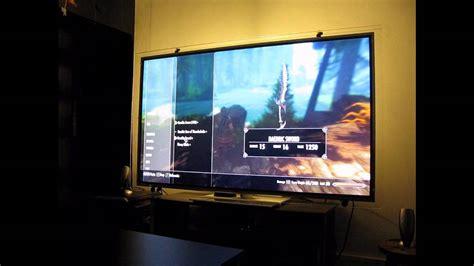 60 inch tv panasonic txl60et5b 60 inch tv youtube