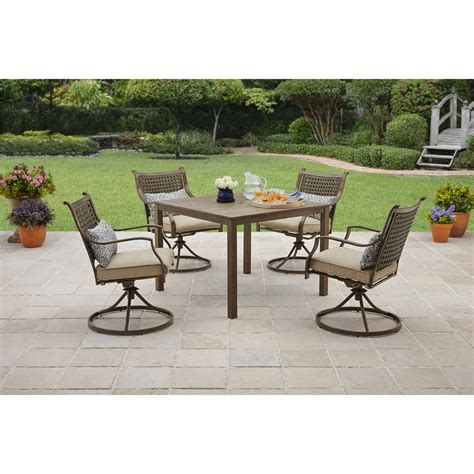walmart patio dining sets wrought iron patio furniture walmart