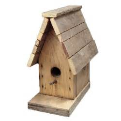 Houde Home Construction Weathered Wood Bird House
