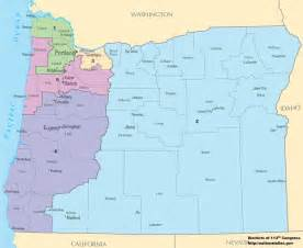 congressional district map oregon s congressional districts