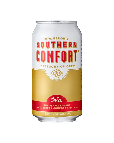 things to mix southern comfort with southern comfort cola cans 10 pack 375ml dan murphy s