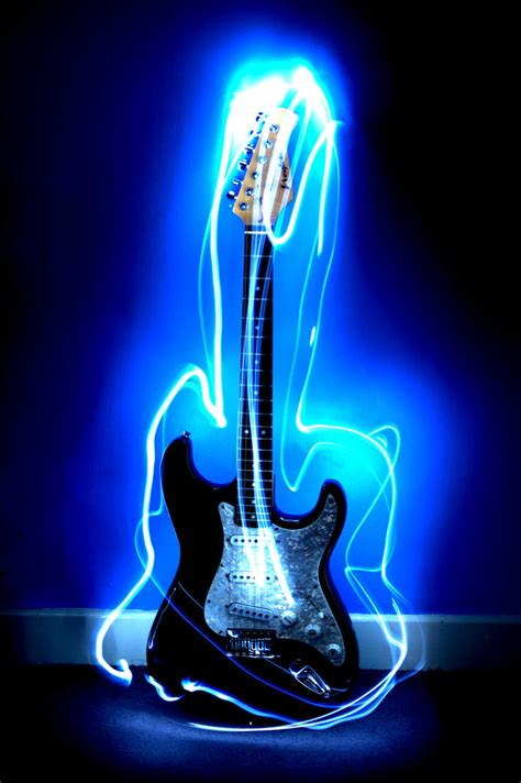 The Light Like A Guitar Only With Light by Light Works Guitar By Alansmithers On Deviantart