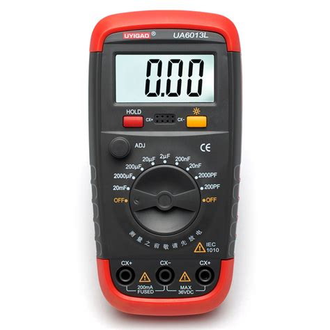 ua6013l auto range digital capacitor capacitance tester meter