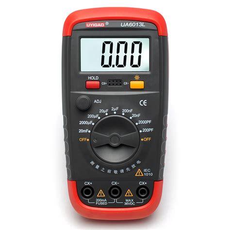 digital capasitor meter ua6013l auto range digital capacitor capacitance tester meter