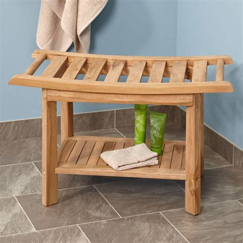 teak corner shower seat with shelf teak corner shower seat with shelf bathroom
