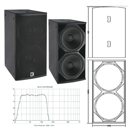 Box Speaker 18 Inch Dual Subwoofer Box Studiolive 18 Inch Bass Speakers Buy