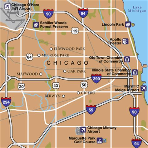 chicago midway map chicago maps maps to get to and from chicago midway