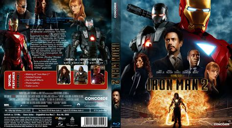 Dvd Bluray Ironman iron 2 cover 2 german cover german dvd covers