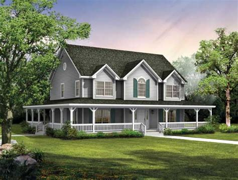 country house plan 4 bedrooms 2 bath 2407 sq ft plan