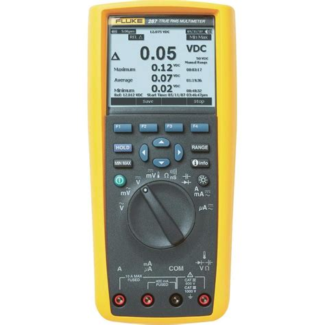 handheld multimeter digital fluke 287 fvf eur calibrated to manufacturer s standards no