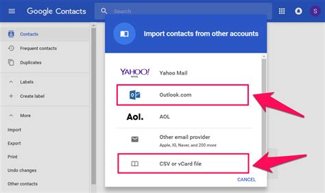 csv format to import contacts into outlook how to import outlook contacts into gmail account