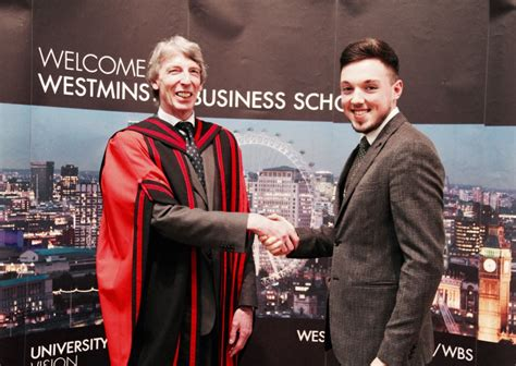 Westminster Mba Scholarship by Westminster Business School Celebrating Student