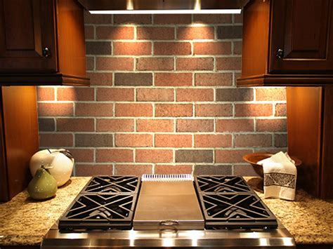 thin brick kitchen backsplash new thin brick is durable enough to use on floors and walls