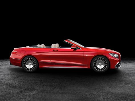 2017 mercedes maybach s650 cabriolet is a land
