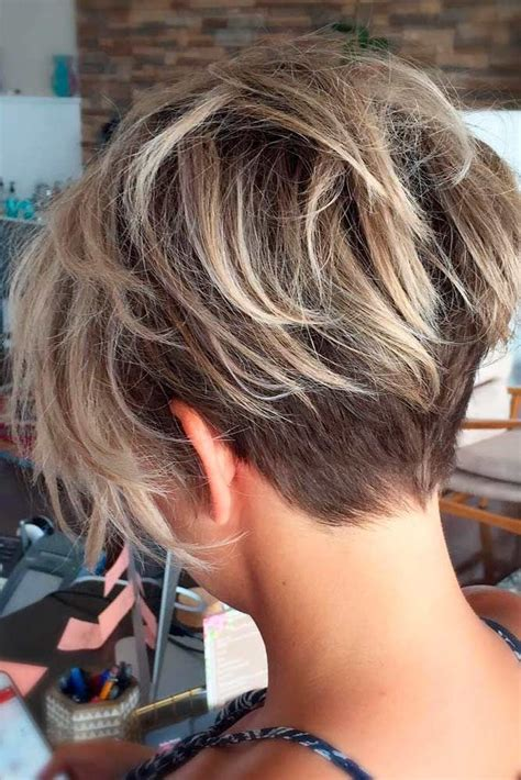 show backs of very short womens hairstyles 20 trendy short haircuts for women over 50 short