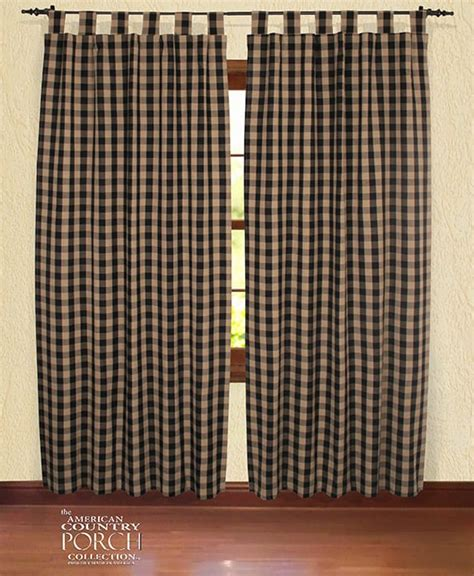 black buffalo check curtains black check curtains black and white buffalo check