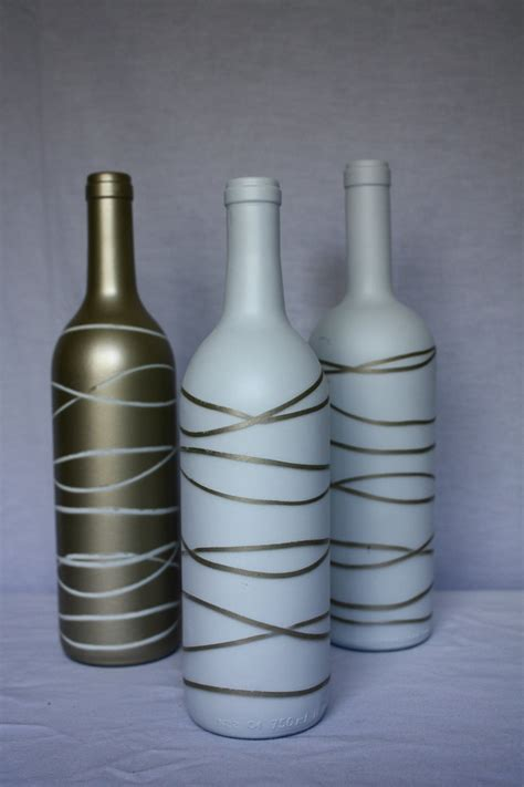 wine bottle vases diys i
