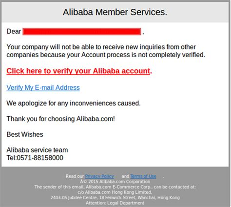 alibaba mail alibaba com in new phishing attack