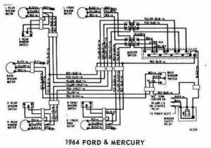 windows wiring diagram of 1964 ford and mercury circuit wiring diagrams