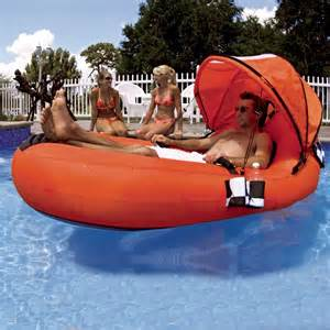 Float With Canopy by Feel Good Pool Float With Canopy Sp54 1701 Cozydays