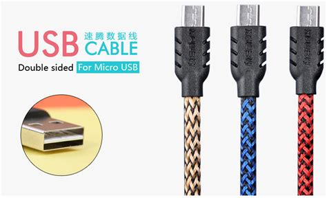 Usb Cable Anti Interference Data Line High Quality High Speed Micr raya deal original remax charging data cable series for