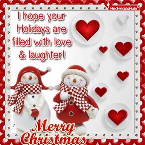 hope  holidays  filled  love laughter merry christmas pictures
