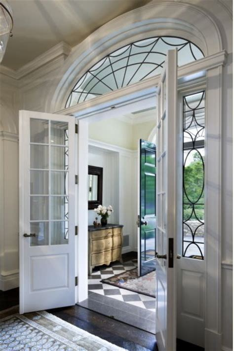 Interior Doors With Arched Transom by Entryway Arched Transom Window Doors
