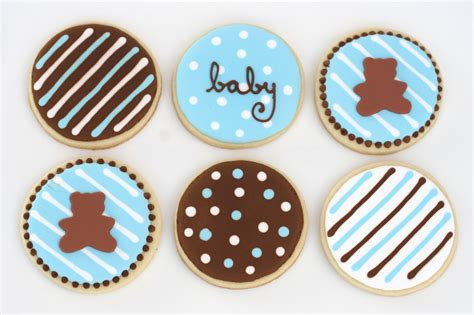 Baby Boy Shower Cookie Ideas by Baby Shower Decorated Cookies Best Baby Decoration