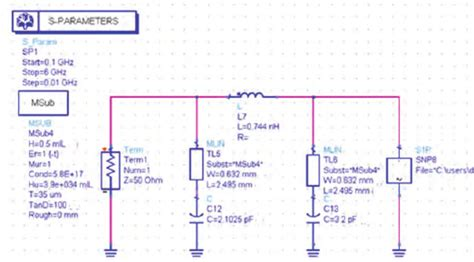 schottky diode in ads ads simulation combined tunable matching network and an s uwb antenna