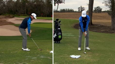 zach johnson wedge swing gca retief goosen s best full swing shot golf channel