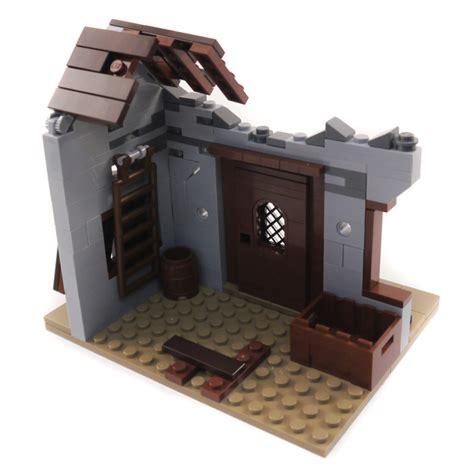 Lego Ww2 Tutorial | purchase custom lego instructions wwii ruined barn
