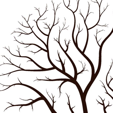 Leafless Tree Branch Outline by Leafless Autumn Tree Design Vector Dragonartz Designs We Moved To Dragonartz Net