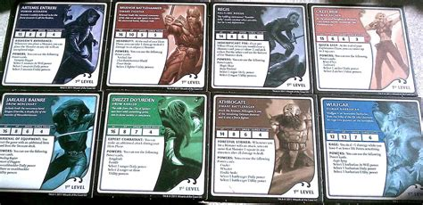 dungeons dragons legends of drizzt board game team board game