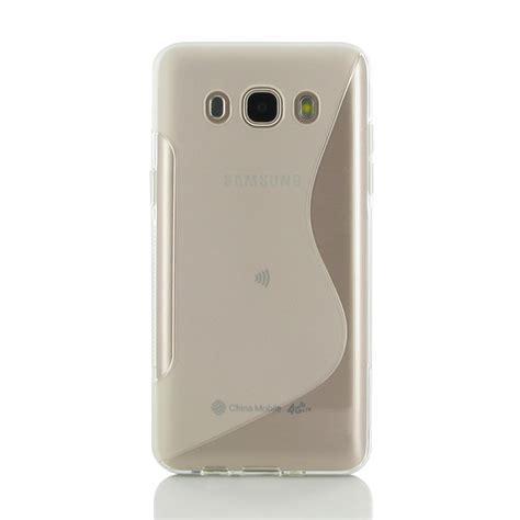 Softcase Transparan Samsung J5 2016 samsung galaxy j5 2016 soft translucent s shape pattern pdair