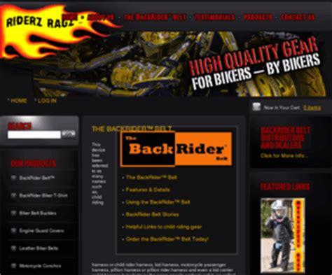 backriderbeltcom  backrider belt riderz ragz