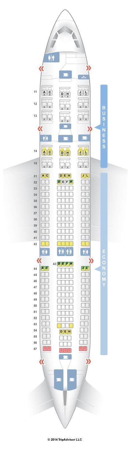 seating guru seatguru seat map air china airbus a330 200 332 v1