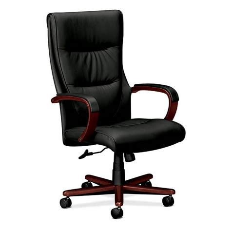 Office Chairs Hon Hon Leather High Back Executive Chair Atwork Office