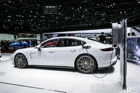 Porsche Panamera Turbo S Sound by Geneva 2017 Porsche Panamera Turbo S E Hybrid