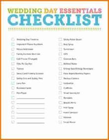 simple wedding planning 5 simple wedding planning checklist expense report