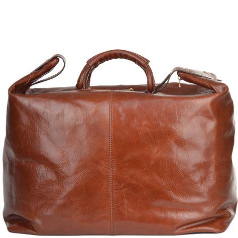 Handmade Purses Uk - large italian leather holdall tobacco 75220 01 07
