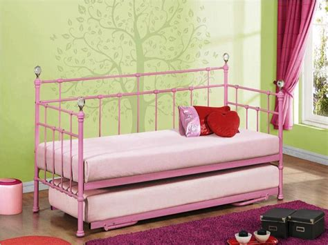 girls day bed day beds for toddlers amy white metal day bed single