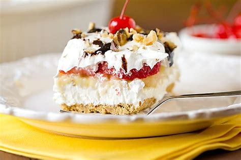 No Bake Banana Split Dessert No Bake Banana Split Cake Dessert Brown Eyed Baker